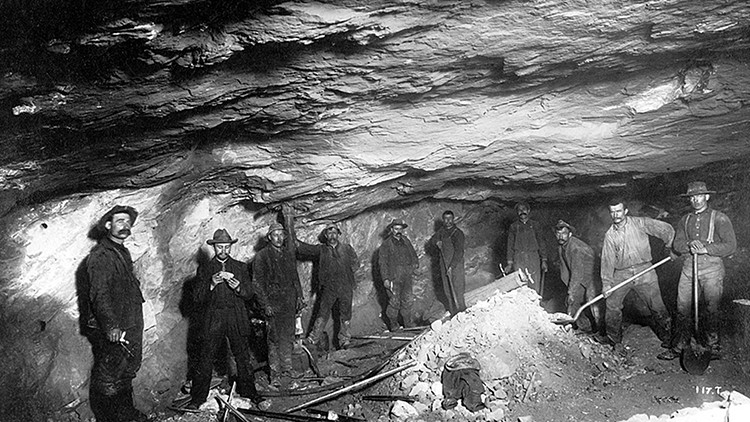 Treadwell Mine Gold Miners juneau history