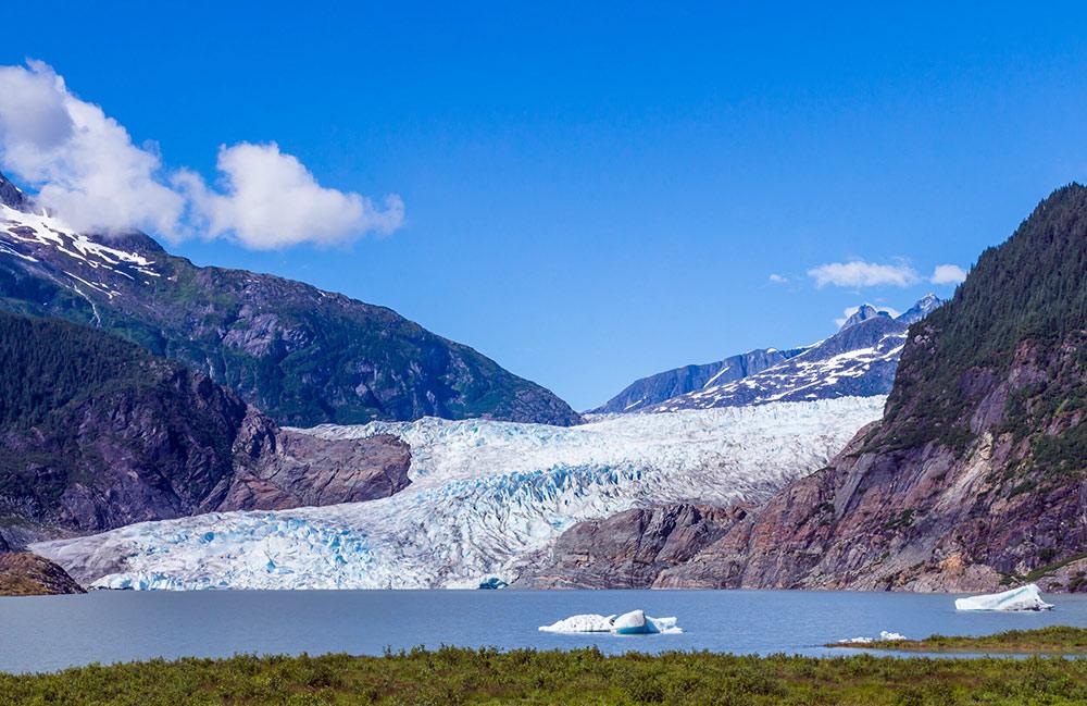 mendenhall glacer