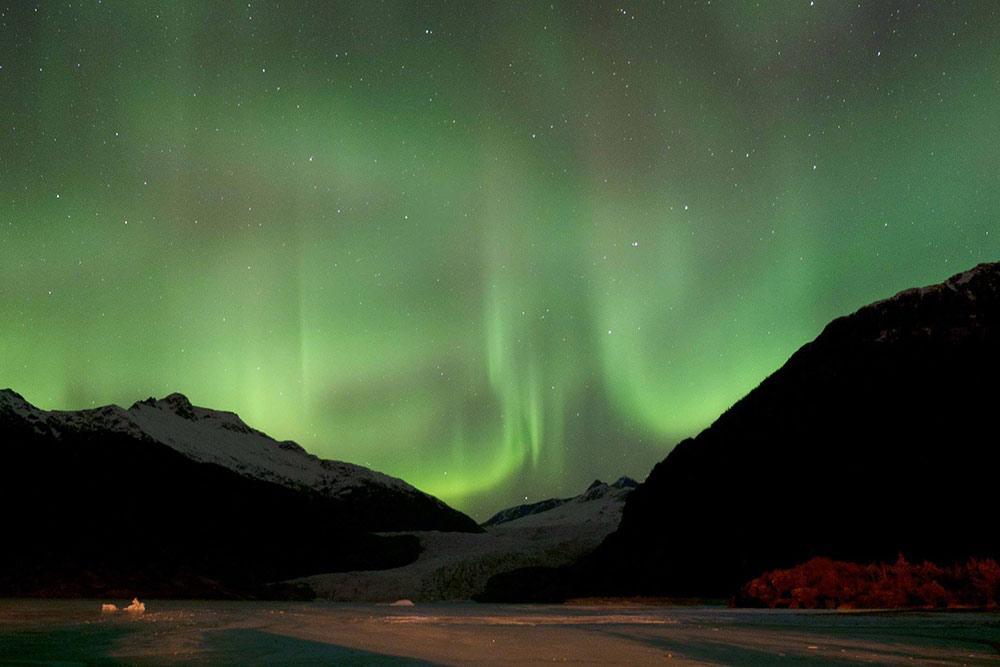 northern lights juneau ak